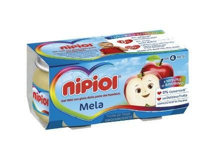 Image of Nipiol Omogenizzati Mela 120gx2 Pezzi