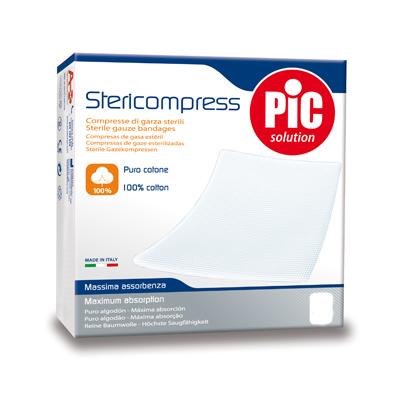 Pic Stericompress Garza Sterile 36x40cm 12 Pezzi