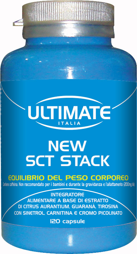 Ultimate Sct Stack Integratore Alimentare 120 Capsule