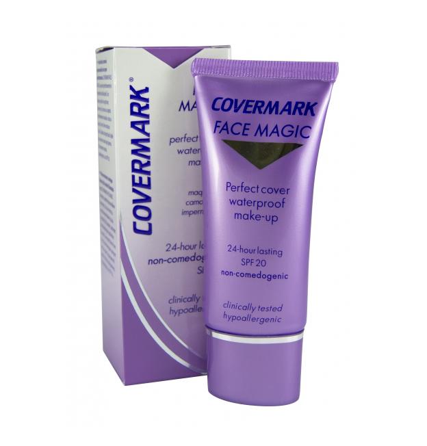 Image of Covermark Face Magic n. 10 ( fondotinta cremoso impermeabile che copre perfettamente ) 30 ml 912255801