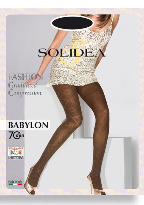 Solidea Babylon Collant Riposante Colore Nero Taglia 4xxl