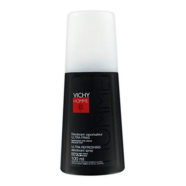Vichy Homme Ultra-Fresh Desodorante Vapo 100ml
