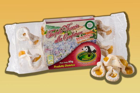 Image of Alimenta 2000 Farfalle Vesuvio Alla Confettura Senza Glutine 85g 912530918