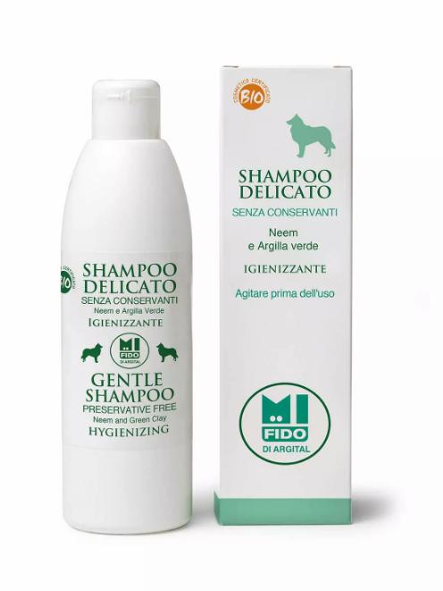 Image of Argital Mi Fido Shampoo Igienizzante Delicato Per Gli Animali 50ml 912922275