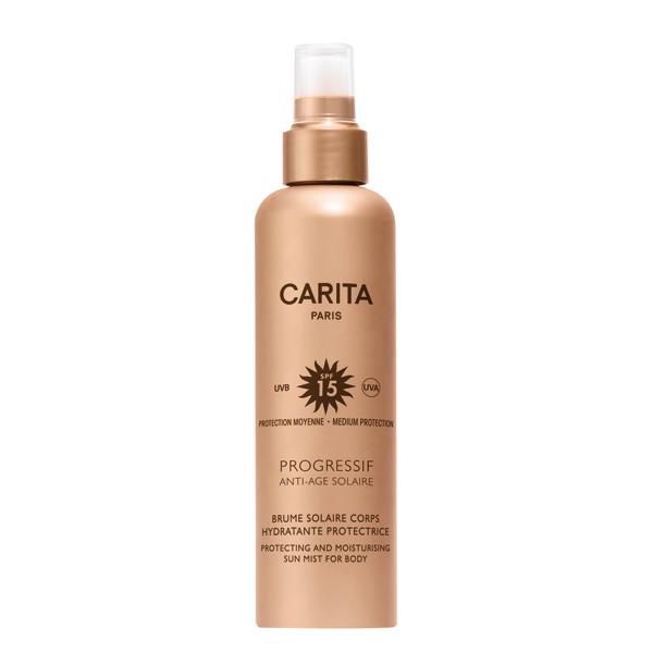 Image of Carita Progressif Anti Age Solaire Spray Solare Corpo Idratante Protettivo Spf 15 200ml 912923760