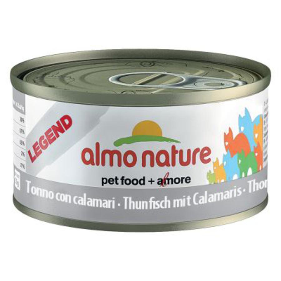 Image of Almo Nature Alimento Per Gatti Tonno Con Calamaro 70g 913174203