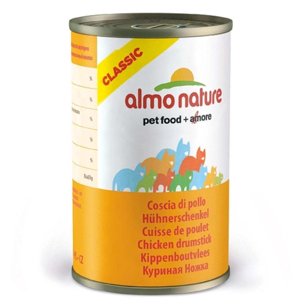 Image of Almo Nature Cat Classic Coscia Di Pollo 140g 913174278