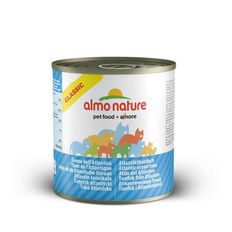 Image of Almo Nature Cat Classic Tonno Atlantico 140g 913174330