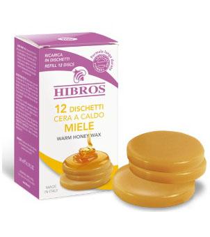 Image of Hibros Cera Caldo Miele Ricariche 12 Dischetti 913209882