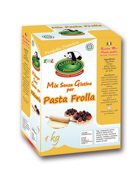 Image of Alilmenta 2000 Farina Mix Pasta Frolla Senza Glutine 1kg 913548614