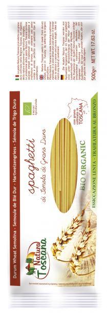 Natura Toscana Spaghetti Bianchi Biologici 500g
