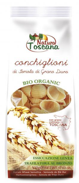 Natura Toscana Conchiglioni Bianchi Biologici 500g
