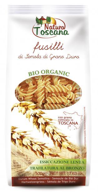 Natura Toscana Fusilli Bianchi biologici 500g