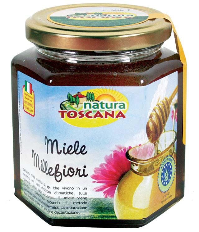 Natura Toscana Miele Millefiori Biologico 500g