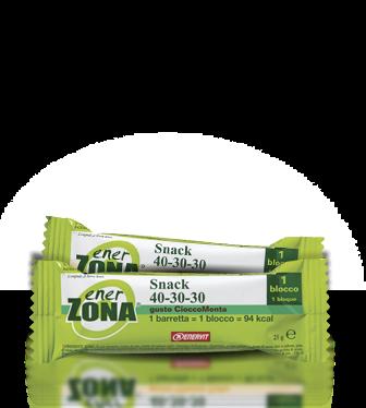EnerZona Snack 40 30 30 Gusto Cioccomenta 1 Pezzo 25g