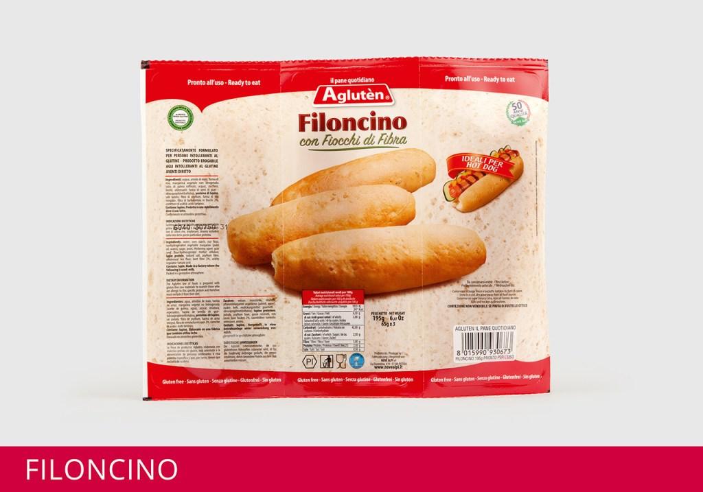 Image of Aglutèn Pane Quotidiano Filoncino Senza Glutine 195g 920921259