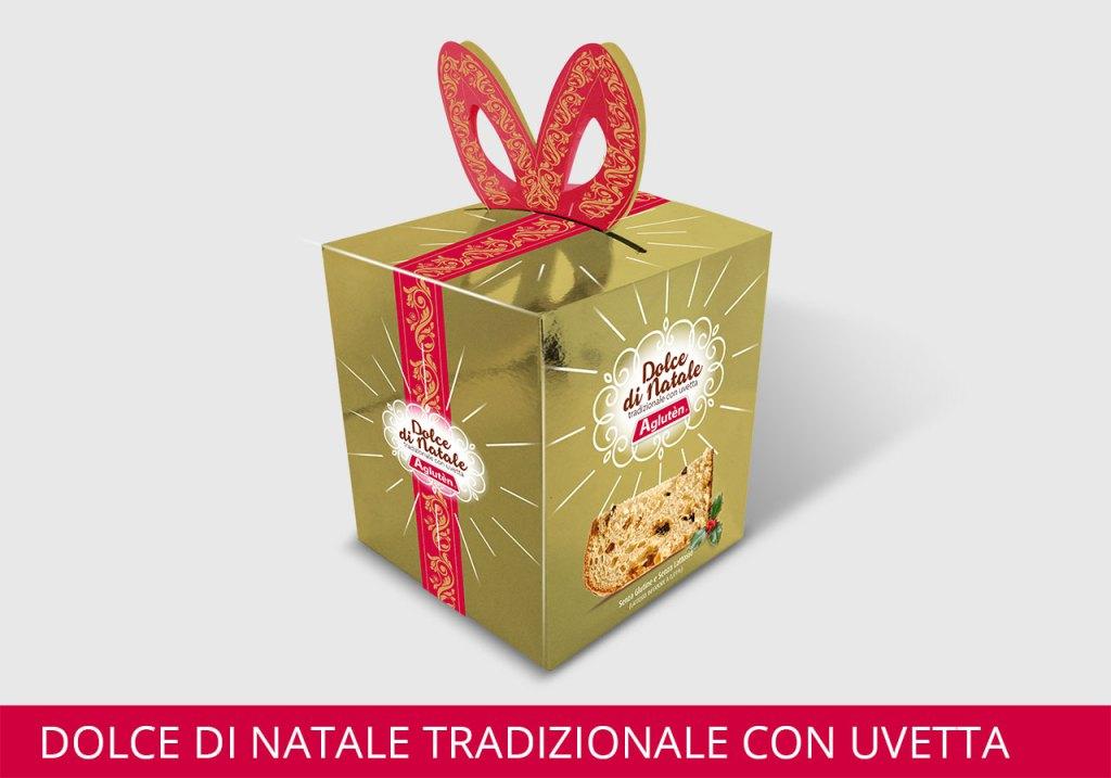 Image of Agluten Dolce Di Natale Senza Glutine 500g 921115921