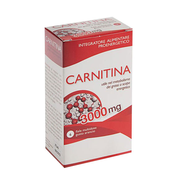 Image of Aqua Viva Carnitina Integratore Alimentare 6 Fiale 921284865
