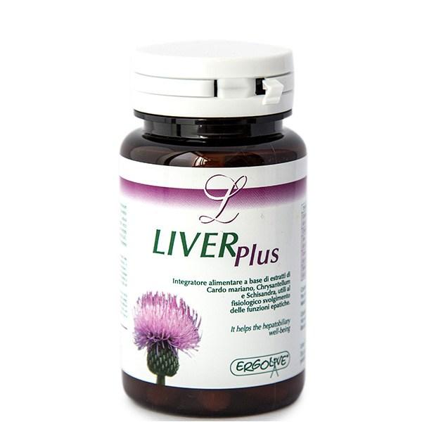 Image of Ergolive Liver Plus Integratore Alimentare 30 Capsule 921401396