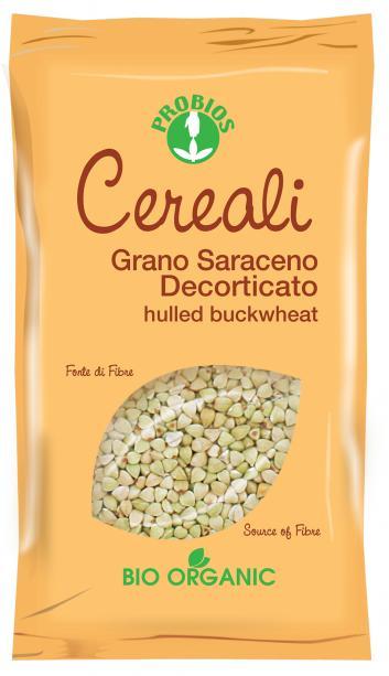 Probios Cereali Grano Saraceno Decorticato Biologico 400g