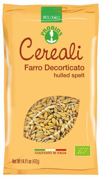 Probios Cereali Farro Decorticato Biologico 400g