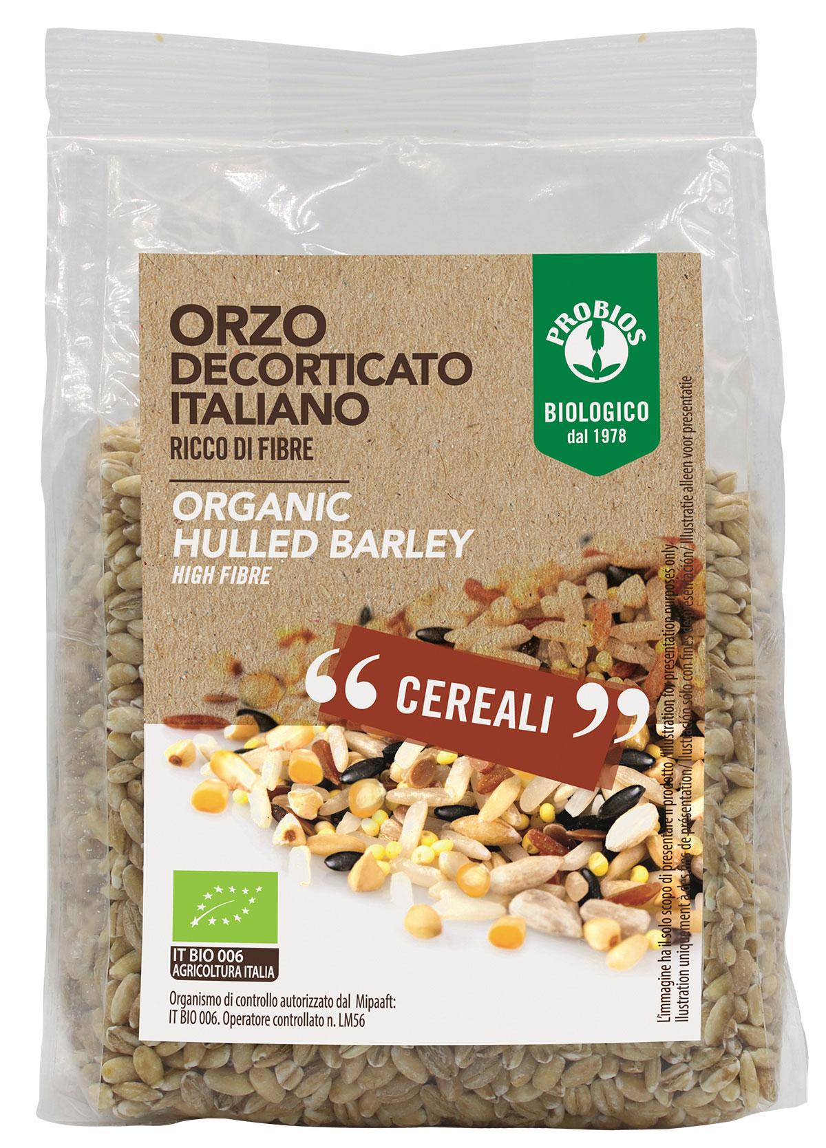 Probios Cereali Orzo Decorticato Biologico 400g