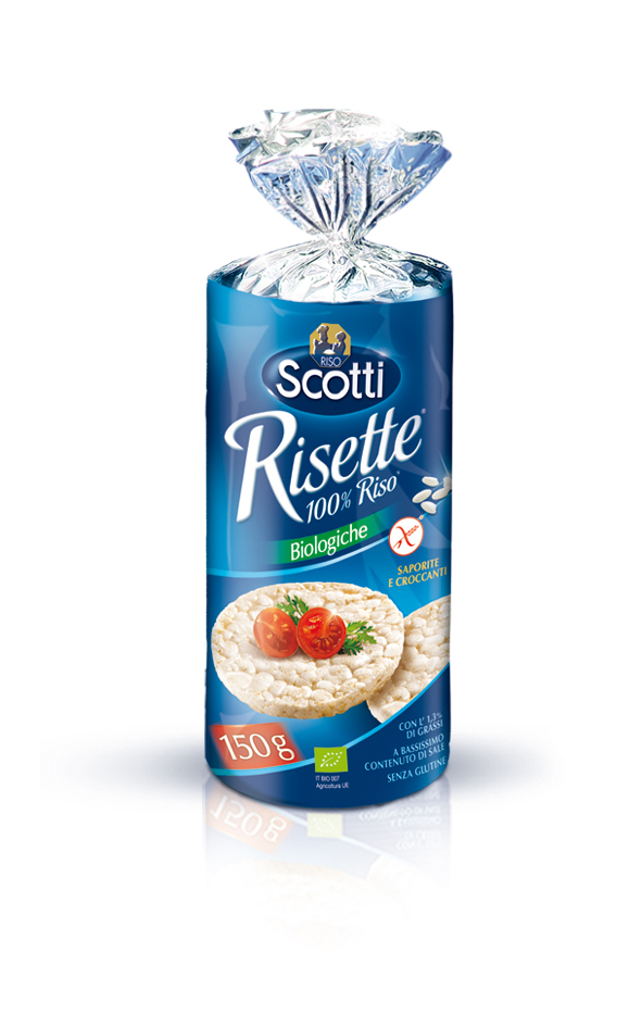 Scotti Risette 100% Riso Biologiche Senza Glutine 150g