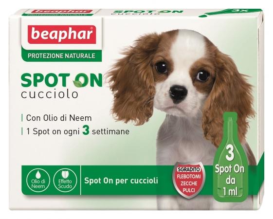 Image of Beaphar Protezione Naturale Spot On Cucciolo Olio Per Animali 3 Pipette 921723413