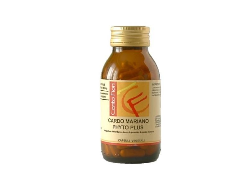 Image of Cento Fiori Cardo Mariano Phyto Plus Integratore Alimentare 100 Compresse 921830954
