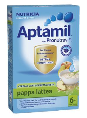 Image of Aptamil Pappa Lattea Cereali Latte E Frutta Mista 250g 921876443