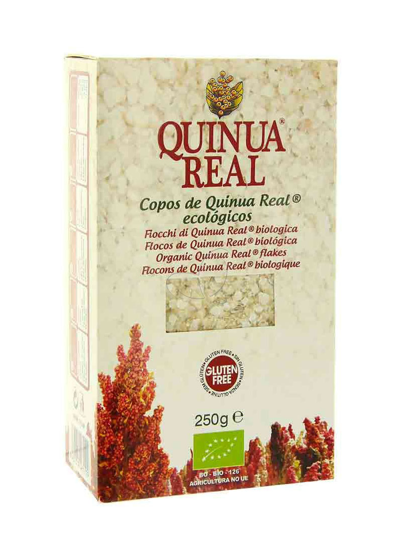 Quinua Real Fiocchi Di Quinoa Real Biologica Prima Colazione Senza Glutine 250g