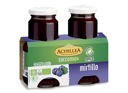 Image of Achillea Succo Mio Succo Gusto Mirtillo Rosso 400ml 921903009