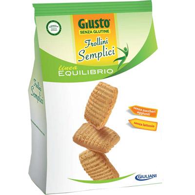 Giusto Frollini Semplici Biscotti Senza Glutine 250g