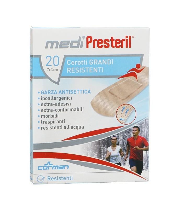 Corman Medipresteril Cerotti Resistenti 20 Pezzi