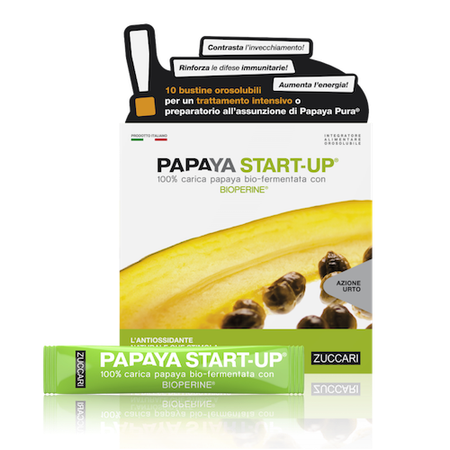 Zuccari Papaya Start Up 10 Stick pack Da 5g