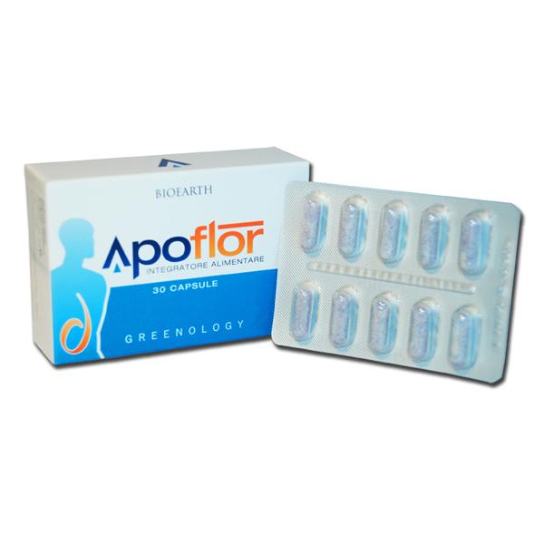 Image of Bioeart Apoflor Integratore Alimentare 30 Capsule 922363458