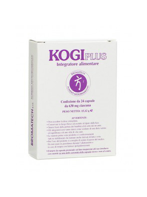 Bromatech Kogi Plus Integratore Alimentare 24 Capsule