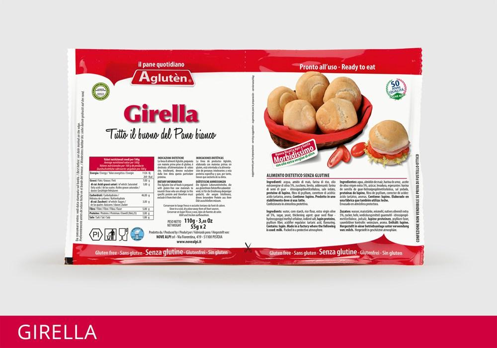 Image of Agluten Pane Quotidiano Girella Senza Glutine 110g 922893680