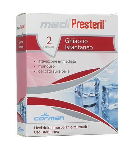 Cormar Medipresteril Ghiaccio Istantaneo 2 Buste