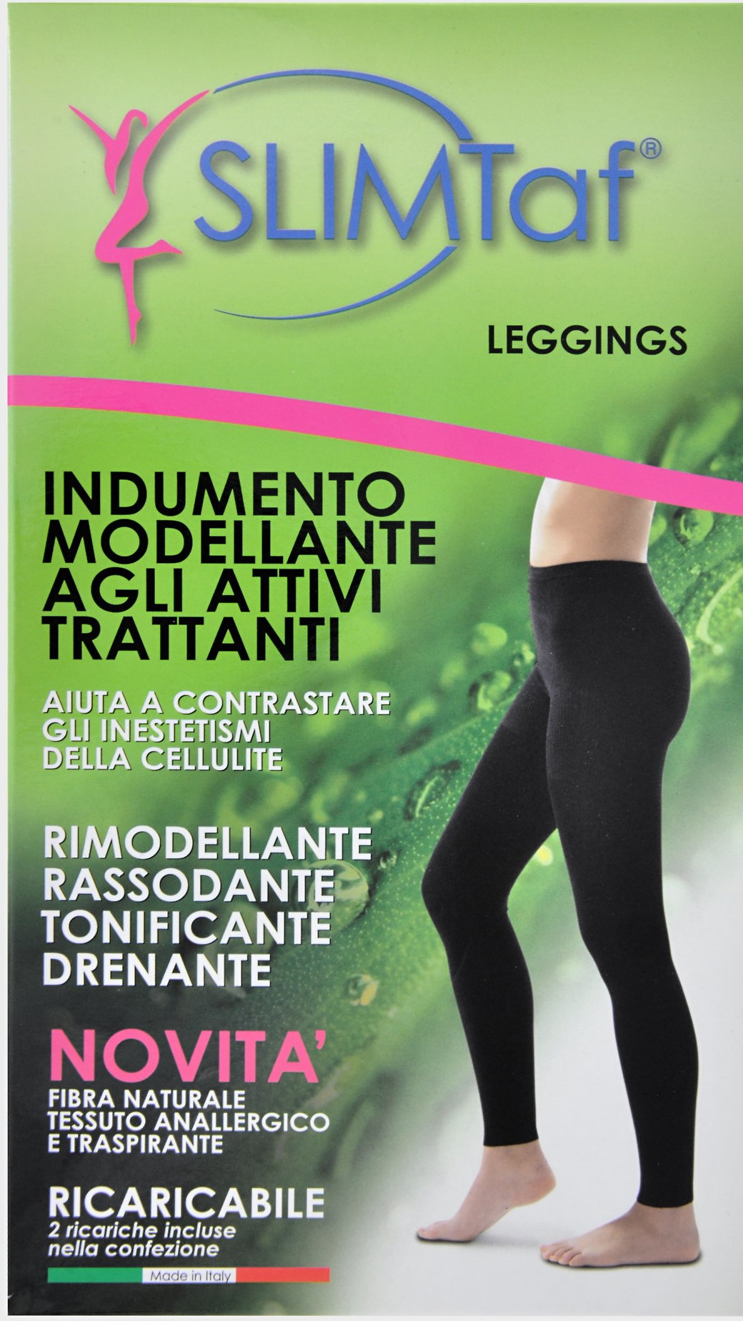 Image of Calzificio Franzoni G.Mauro Slimtaf Leggings Modellante M 922930247