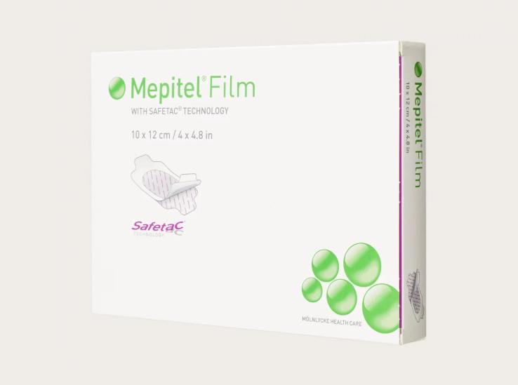 Mölnlycke® Mepitel® Film Medicazione In Film Trasparente Misura 10,5x12 10 Pezzi
