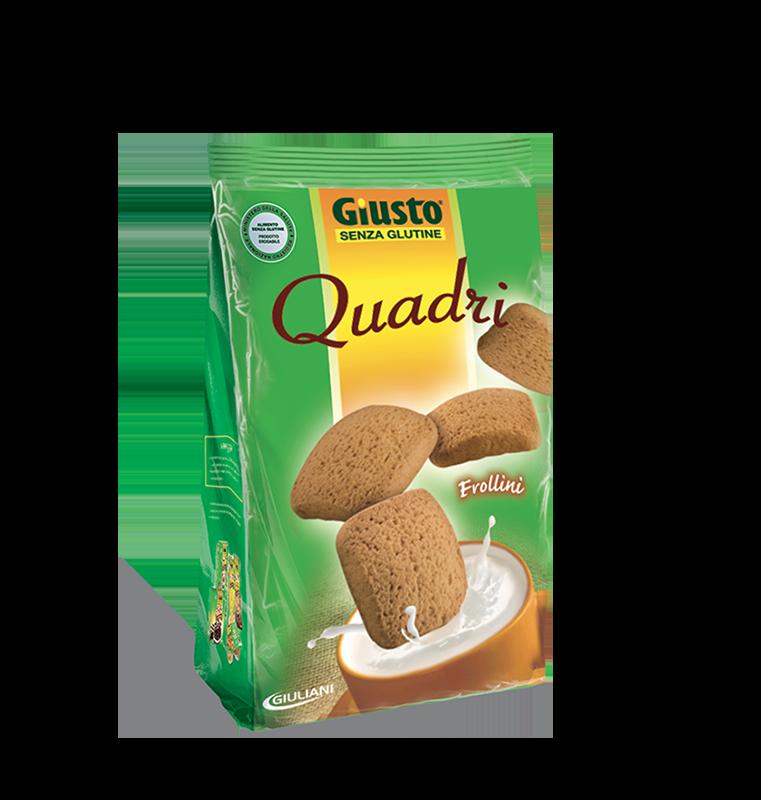 Giusto Quadri Frollini Senza Glutine 200g