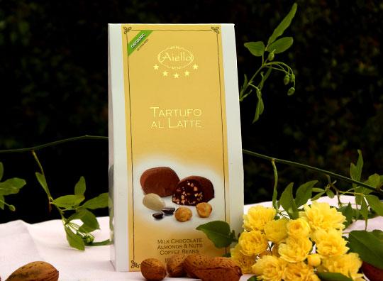 Image of Aiello Tartufi Latte Senza Glutine 100g 923206015