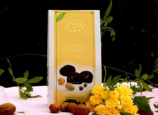 Image of Aiello Tartufi Fondenti Senza Glutine 100g 923206027