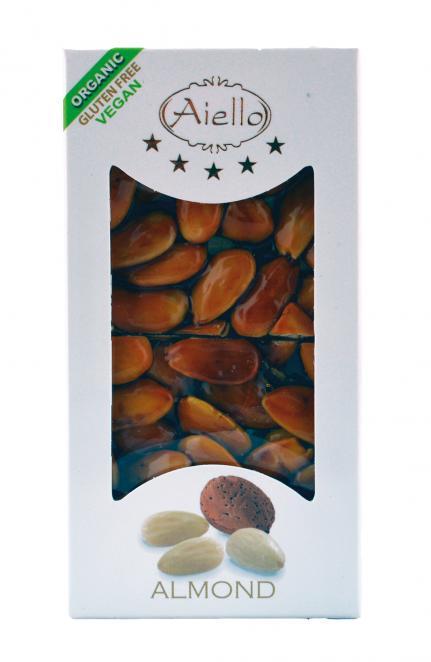 Image of Aiello Croccante Alle Mandorle Coperto Di Cioccolato Fondente Senza Glutine 100g 923206039