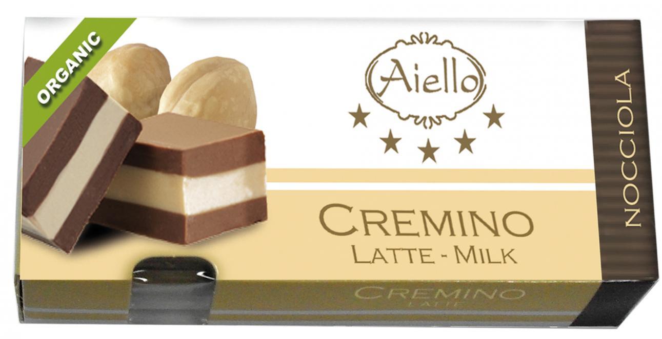 Image of Aiello Cremino Al Latte Con Nocciole Senza Glutine 100g 923206371