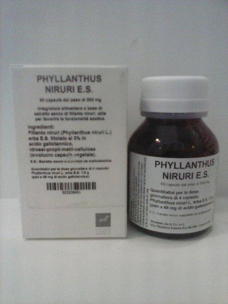 OTI Phyllanthus Niruri E.S. Integratore Alimentare 60 Capsule