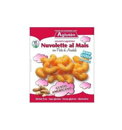 Image of Agluten Nuvolette Al Mais Con Nocciole Americane 45g 923290290