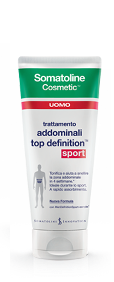 Somatoline Cosmetic Uomo Top Definition Sport 200ml