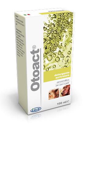 Icf Otoact Detergente Auricolare Per Cani E Gatti 100ml